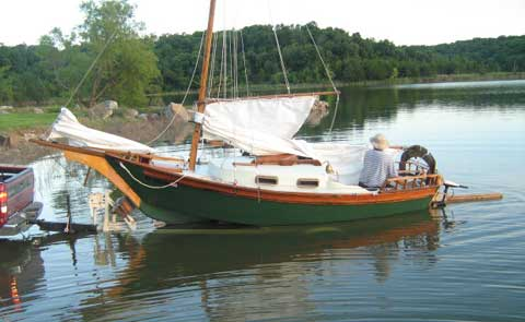 Wooden sailboats for sale Learn how KYK