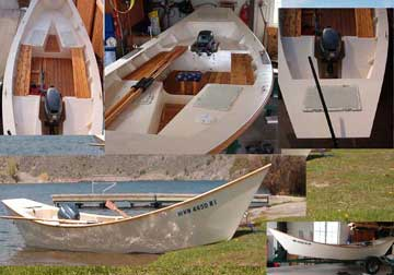 1991 St. Pierre Dory sailboat