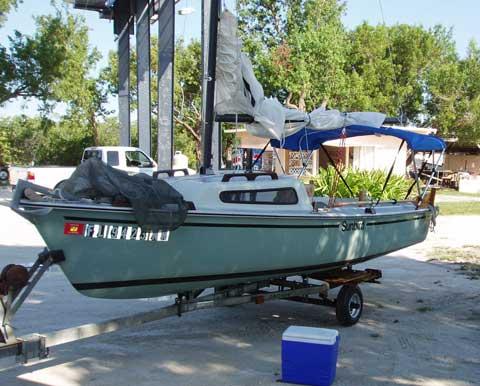 Sunbird 16 sailboat