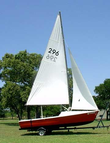 1976 AMF Sunbird 16 sailboat