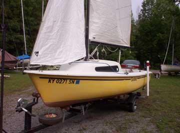 1978 Sunbird 16 sailboat
