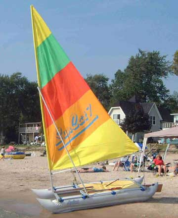 SunCat 7 sailboat