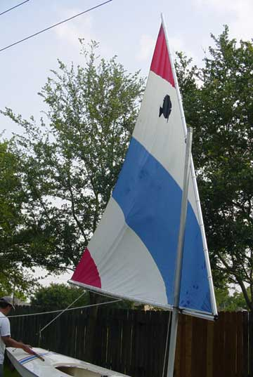 1973 Amf Alcort Sunfish sailboat