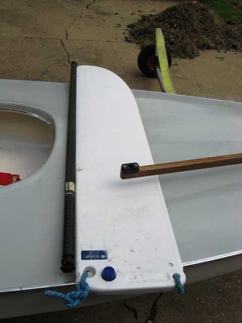 Sunfish Race sailboat