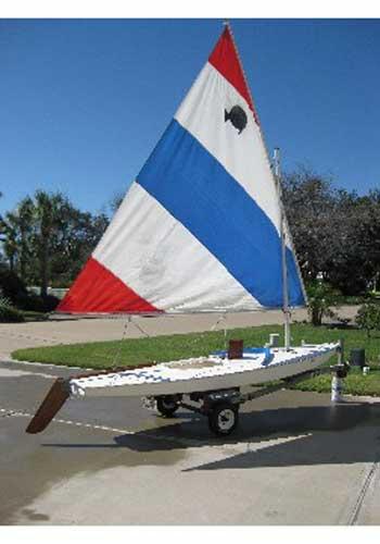 Sunfish, late 70's sailboat