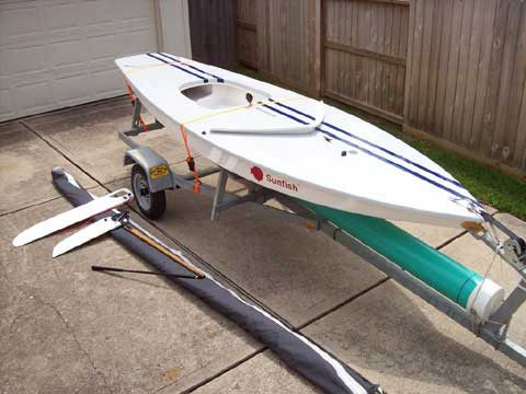 Sunfish Pro Racing Sailboat, 2006 sailboat