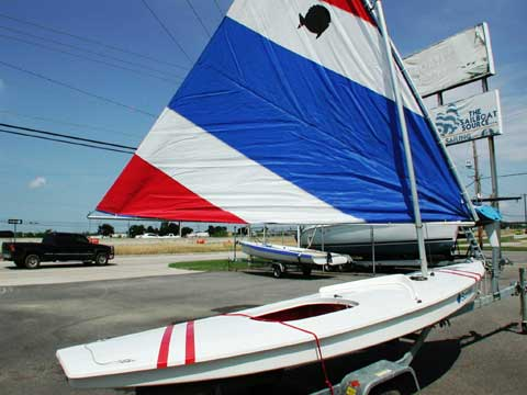 Vanguard Sunfish 2002 Lewisville Texas Sailboat For Sale
