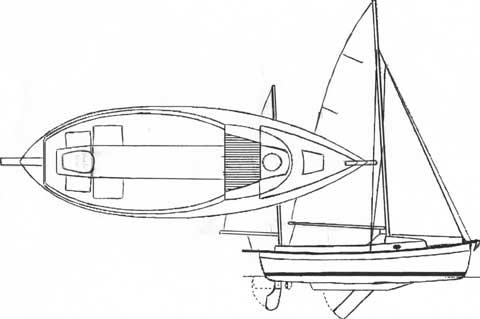 Sunseeker 23 sailboat