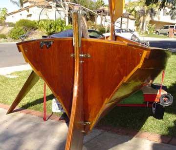 1986 Swampscot Dory sailboat