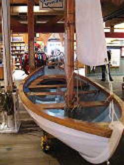 Swampscott Dory 16' sailboat