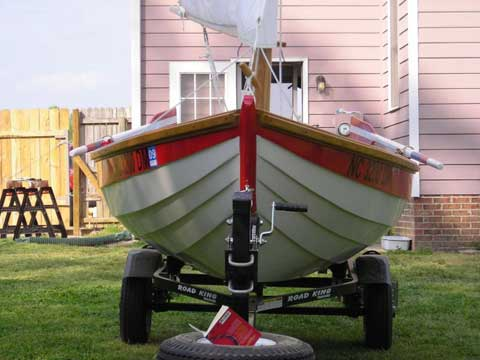 Swampscott Dory, 16' sailboat