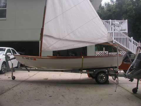 Swifty 14 sailboat