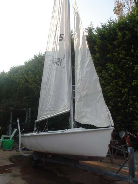 Tanzer 16  sailboat