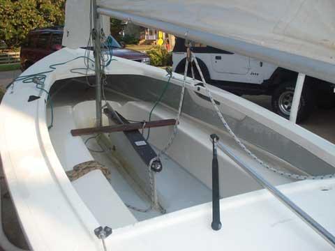 Step Deck Trailer >> Tanzer 16 sailboat for sale