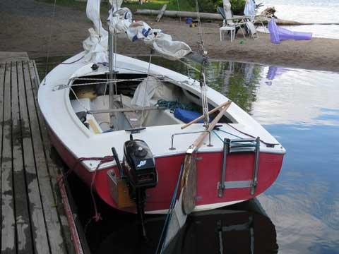 Tanzer 16 sailboat