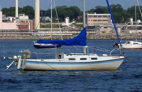 Tanzer 22 sailboat