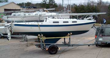 1984 Tanzer 22 sailboat