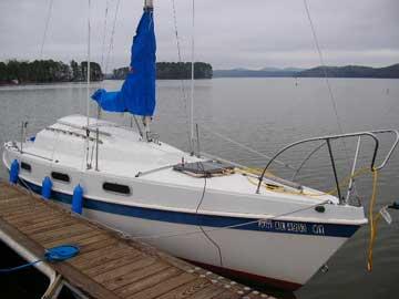 1979 Tanzer 7.5 sailboat