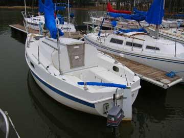 Tanzer 7 5 Sailboat For Sale