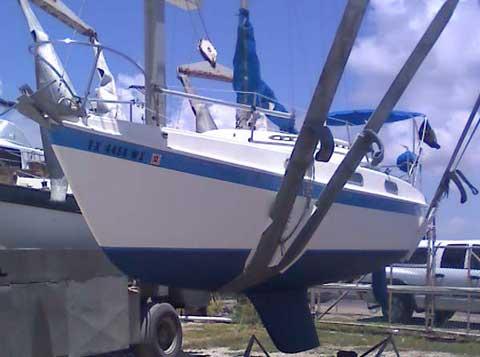 Tanzer 26 sailboat