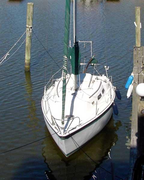 Tanzer 27 sailboat
