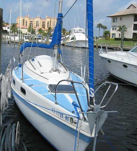 Tanzer 7.5 sailboat