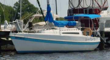 1981 Tanzer 7.5 sailboat