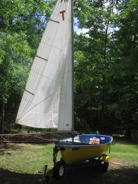 Teck Dinghy, 12 foot, 1953 sailboat