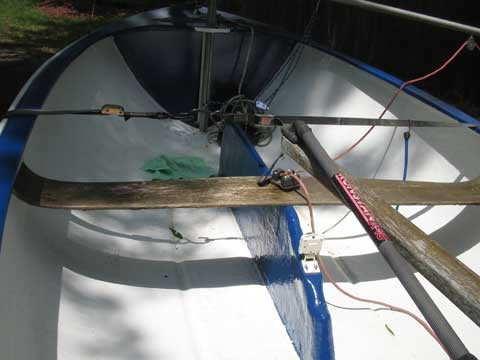 Teck Dinghy, 12 foot, 1953 sailboat
