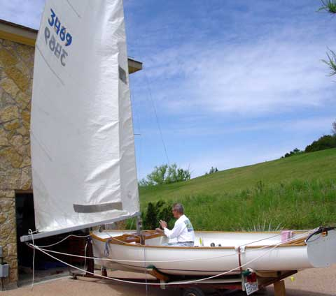 Thistle sailboat