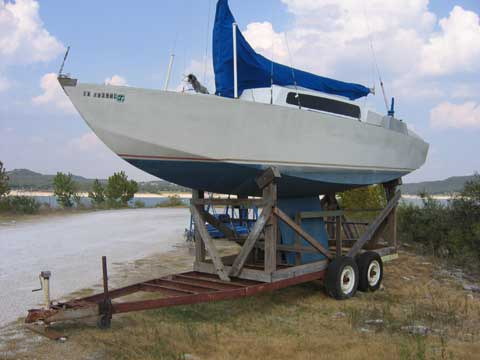 Thunderbird 26 sailboat