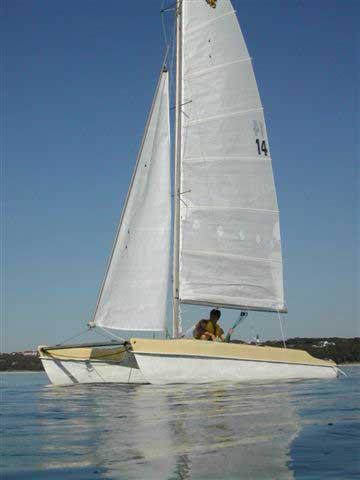 1959 Tiger Cat 17 sailboat