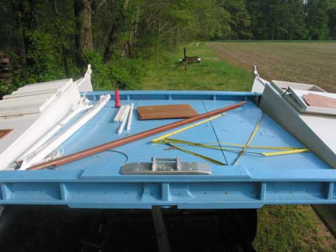 Tiki 21 sailboat