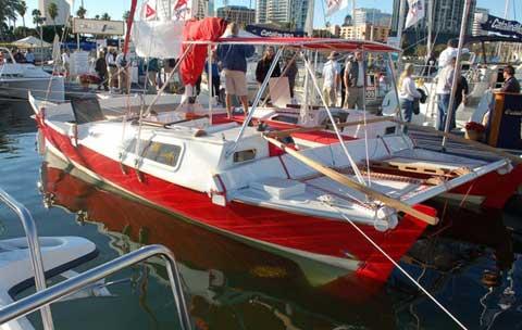 Tike 30 catamaran sailboat