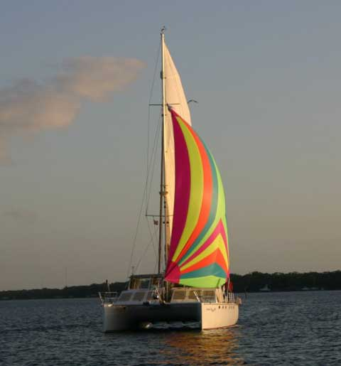 Timeline 46 catamaran sailboat