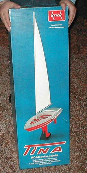 Tina radio controlled sailboat