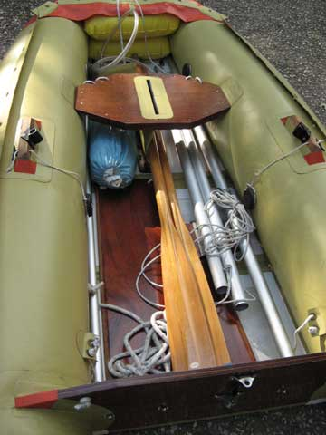 Tinker Tramp Sailing Inflatable Dinghy