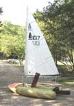 Tinker Tramp Sailing Inflatable Dinghy sailboat