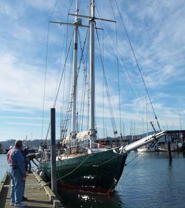Topasail 64 sailboat