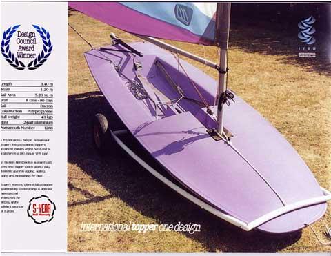 Topper sailboat