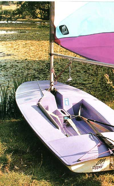 Topper sailboat
