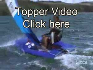 Topper sailboat VIDEO, click to start