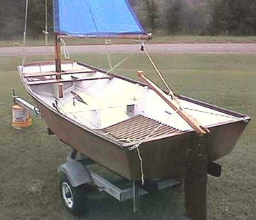 2001 Tosher 10 sailboat
