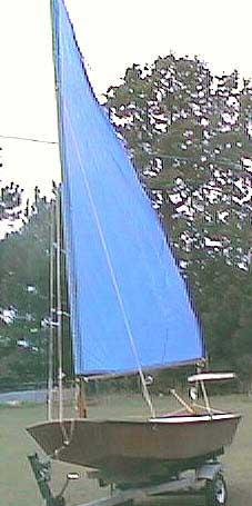 2001 Tosher 10 sailboat