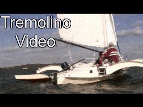 Tremolino trimaran video