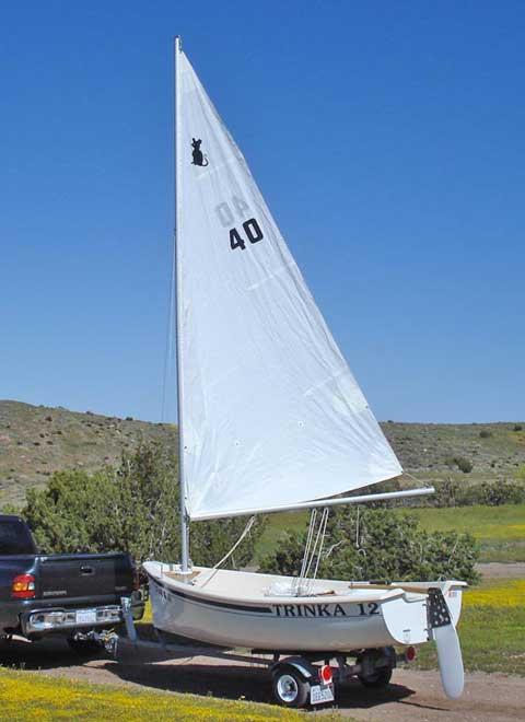 Trinka 12 sailboat