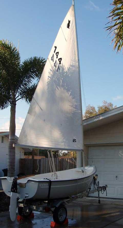 Trinka 12, 2007 sailboat