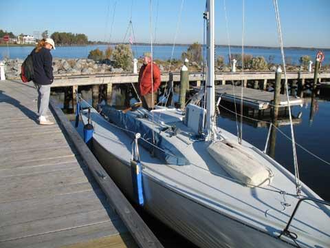 Tripp 26 sailboat