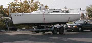 Tripp 26, starboard side