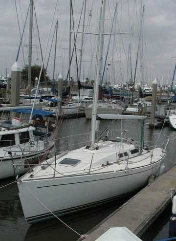 1992 Tripp 36 sailboat